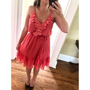 Coral Beautiful Summer Dress